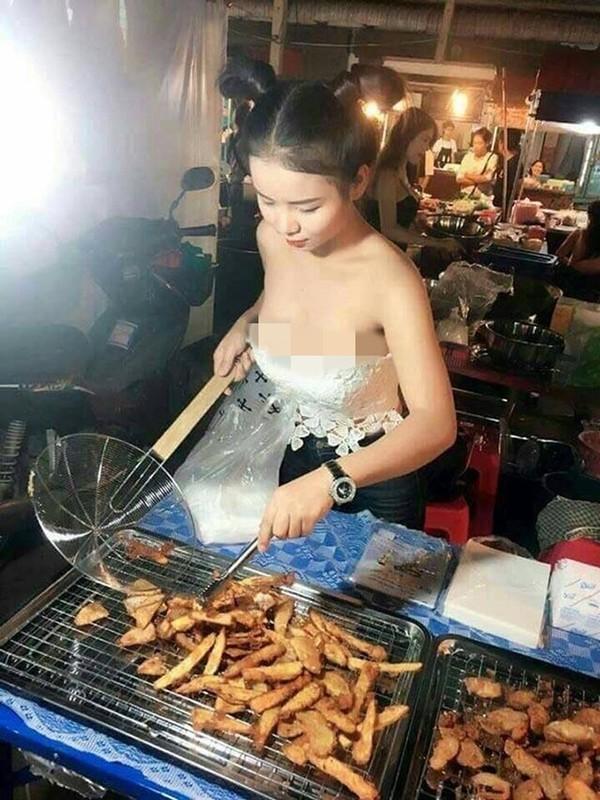 """Hang loat hot girl Thai Lan an mac ho hang de """"cau"""" khach mua hang-Hinh-5"""