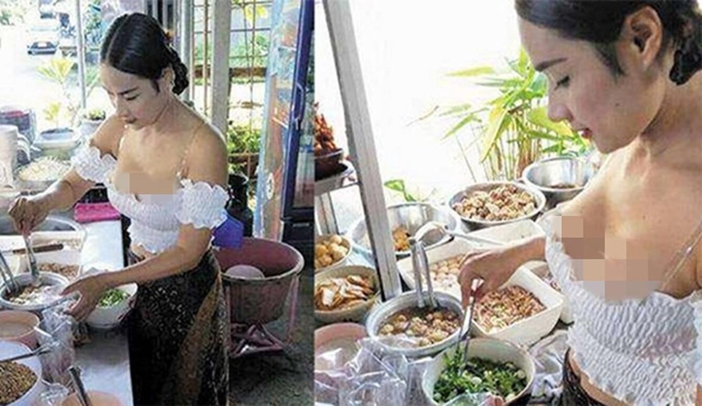 """Hang loat hot girl Thai Lan an mac ho hang de """"cau"""" khach mua hang-Hinh-7"""