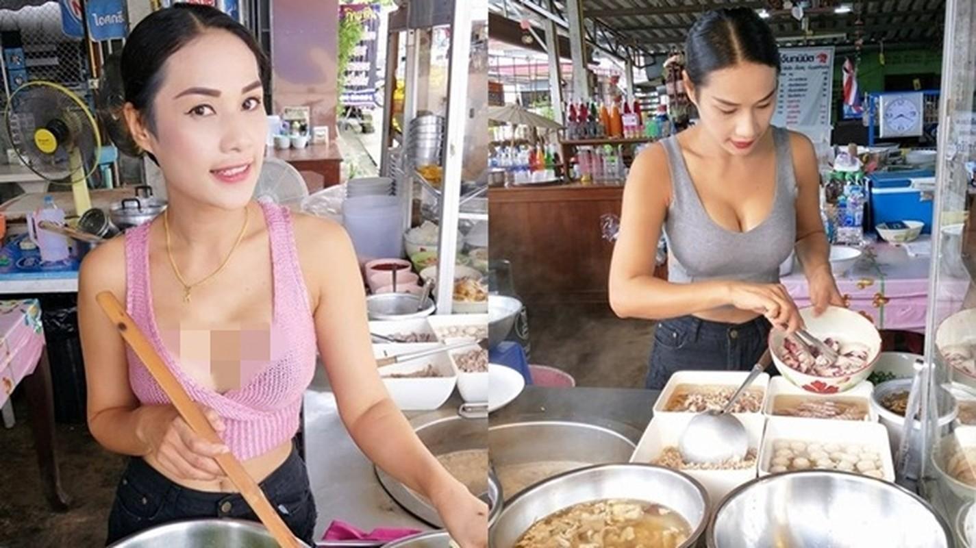 """Hang loat hot girl Thai Lan an mac ho hang de """"cau"""" khach mua hang-Hinh-8"""
