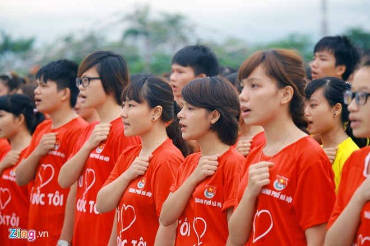 12.000 ban tre xep hinh co do sao vang tai My Dinh-Hinh-5