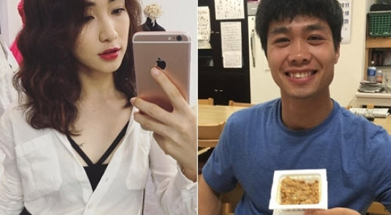 Cong Phuong bo theo doi Hoa Minzy tren Instagram