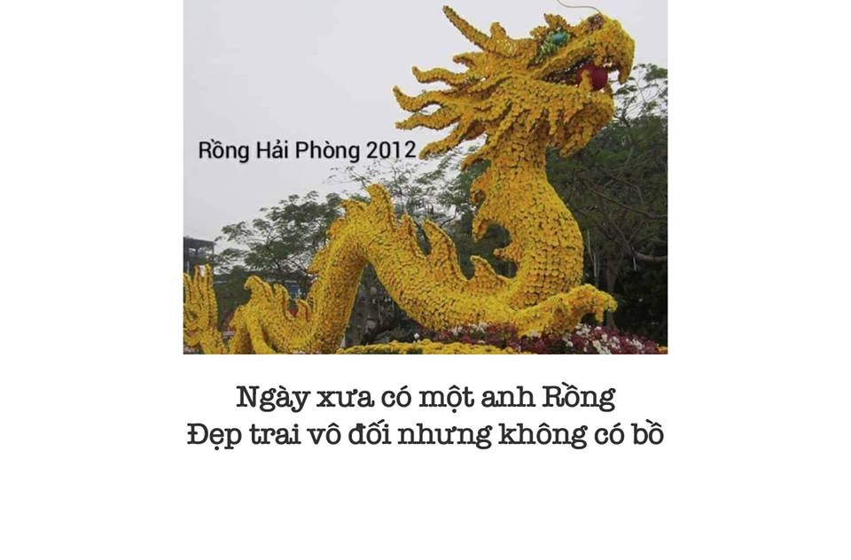 Cuoi nga nghieng voi tho, anh che ve con rong Hai Phong