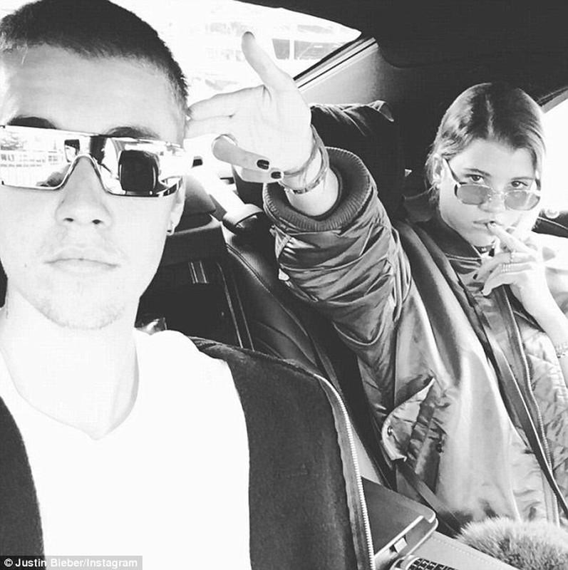 Ngam ban gai tuoi teen cua Justin Bieber