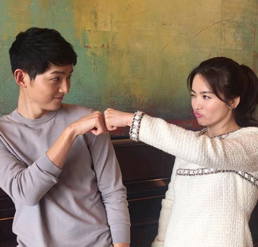 Nhung lan Song Joong Ki va Song Hye Kyo bi dinh tin don hen ho-Hinh-4