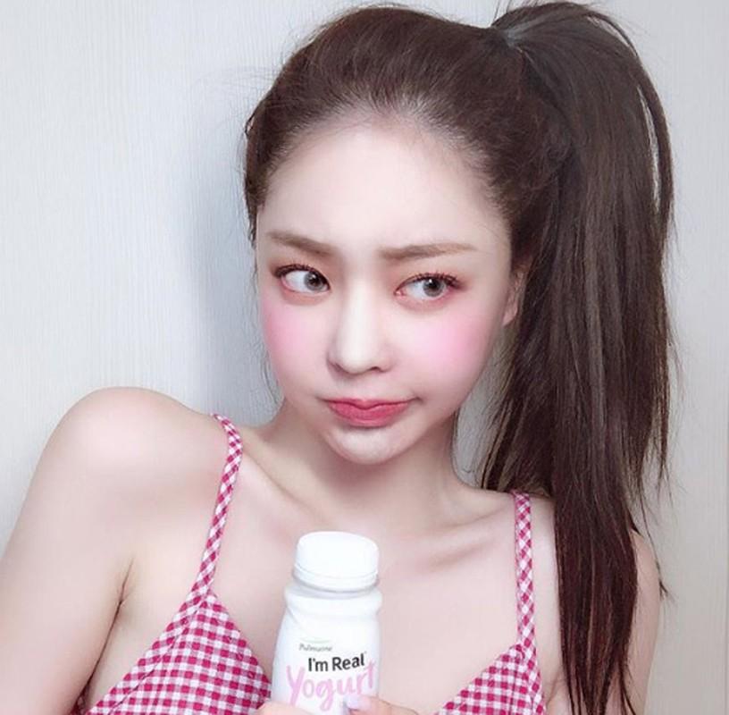 Hot girl Han Quoc hut van nguoi ham mo nho doi moi xinh nhu hoa-Hinh-10