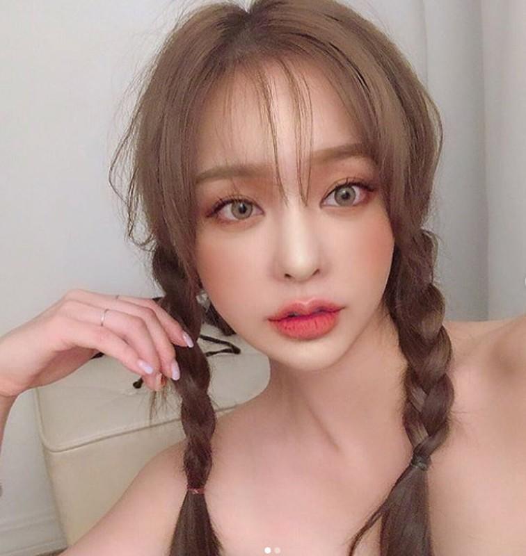 Hot girl Han Quoc hut van nguoi ham mo nho doi moi xinh nhu hoa-Hinh-11