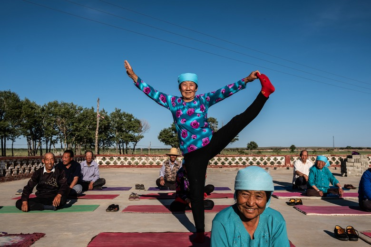 Ky la ngoi lang yoga o Trung Quoc, noi nguoi dan cuc tho-Hinh-4