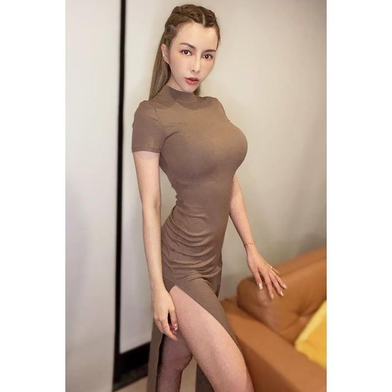 Chi dien do tap, hot girl nguc khung cung khien fan hoa mat-Hinh-10