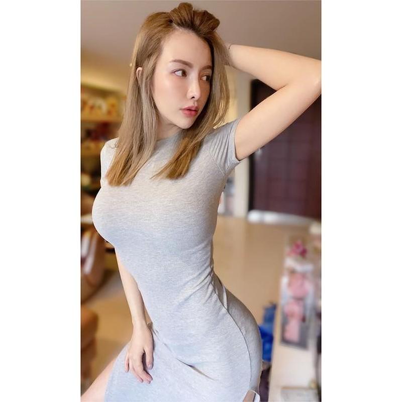 Chi dien do tap, hot girl nguc khung cung khien fan hoa mat-Hinh-8