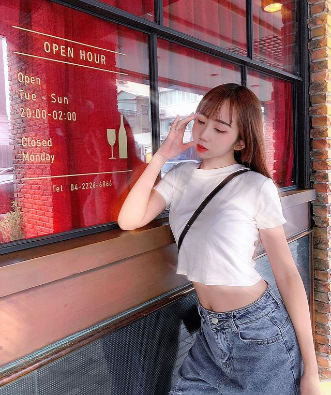 Hot girl day cach khoe dang triet de khi dien do tre nai, goi cam-Hinh-8