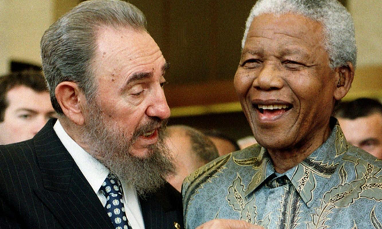 Khoanh khac lanh tu Fidel Castro ben cac chinh khach the gioi-Hinh-4
