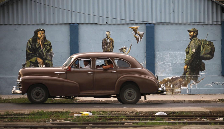 Hinh anh lanh tu Fidel Castro trong nhung buc ve graffiti-Hinh-3
