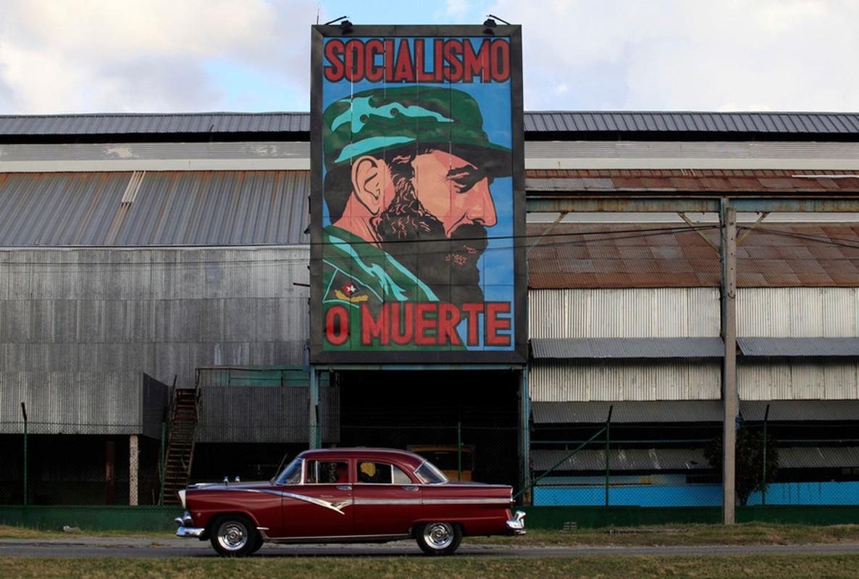 Hinh anh lanh tu Fidel Castro trong nhung buc ve graffiti-Hinh-6