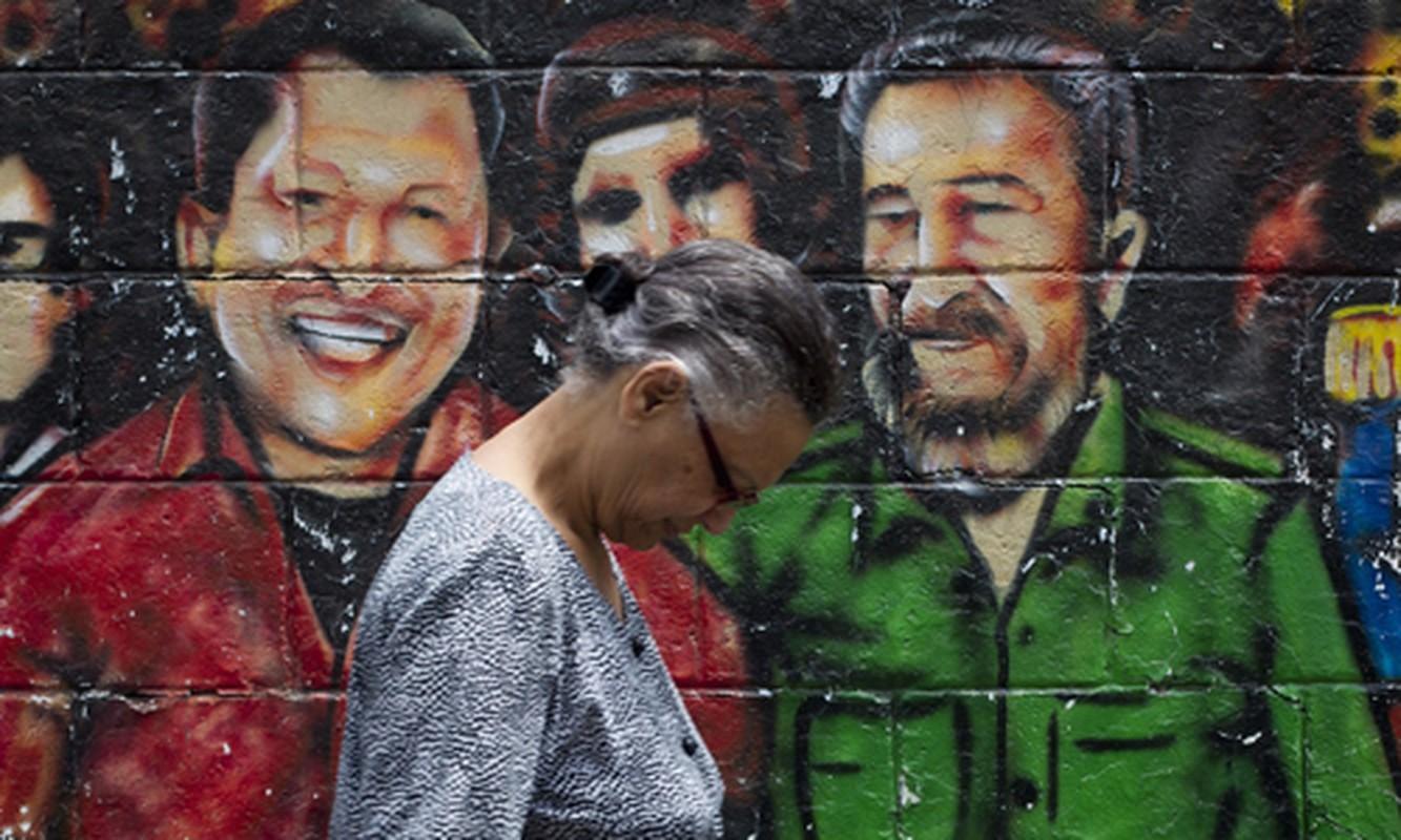 Hinh anh lanh tu Fidel Castro trong nhung buc ve graffiti-Hinh-7