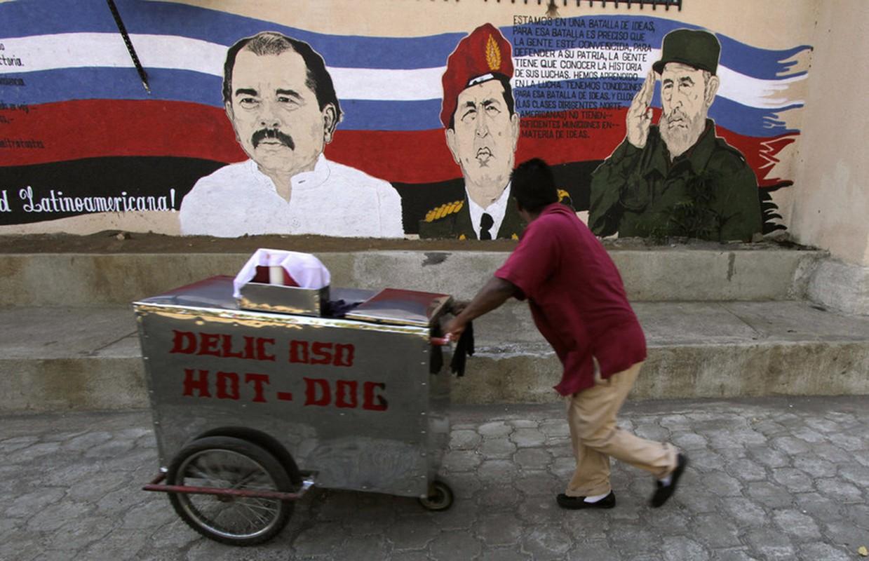 Hinh anh lanh tu Fidel Castro trong nhung buc ve graffiti-Hinh-9