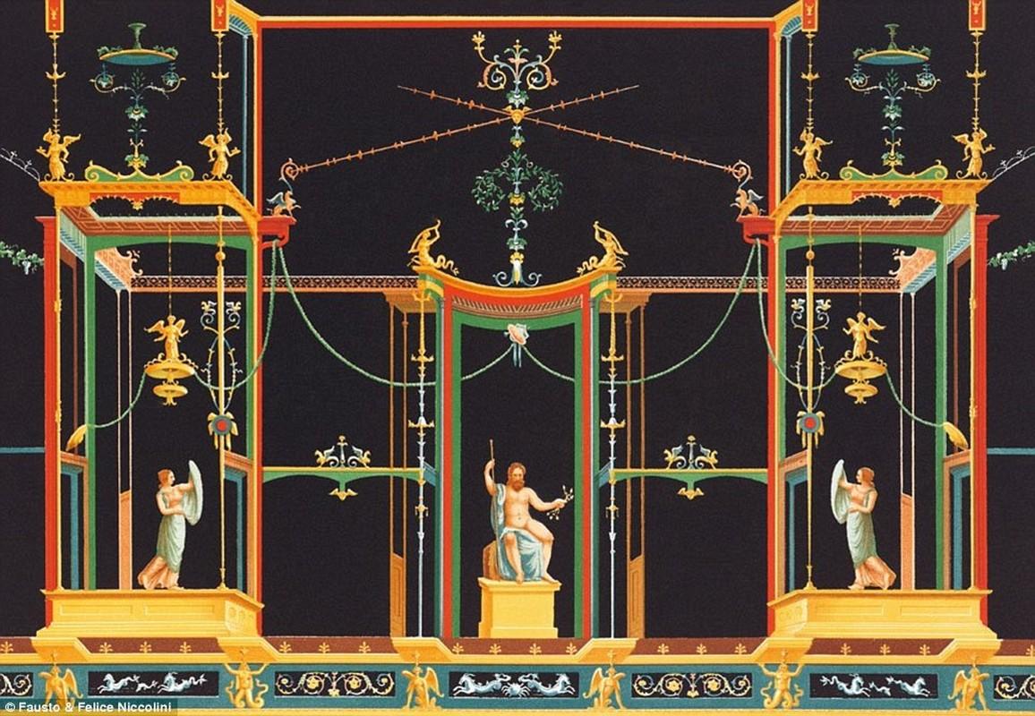 Tranh ve thanh pho Pompeii truoc khi bi nui lua chon vui-Hinh-4