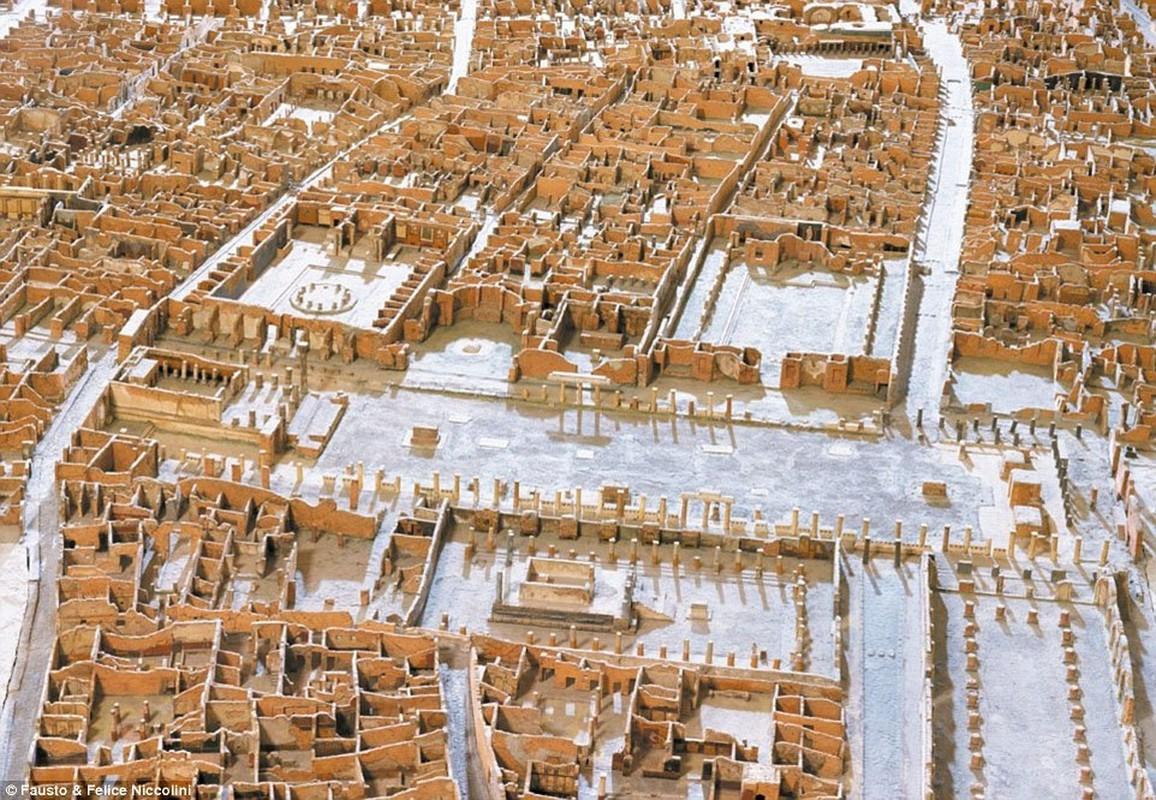 Tranh ve thanh pho Pompeii truoc khi bi nui lua chon vui-Hinh-8