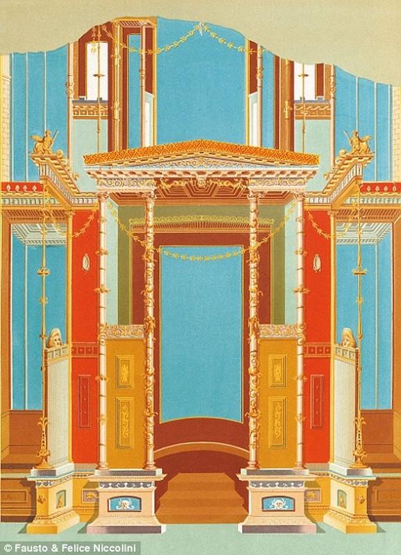 Tranh ve thanh pho Pompeii truoc khi bi nui lua chon vui-Hinh-9