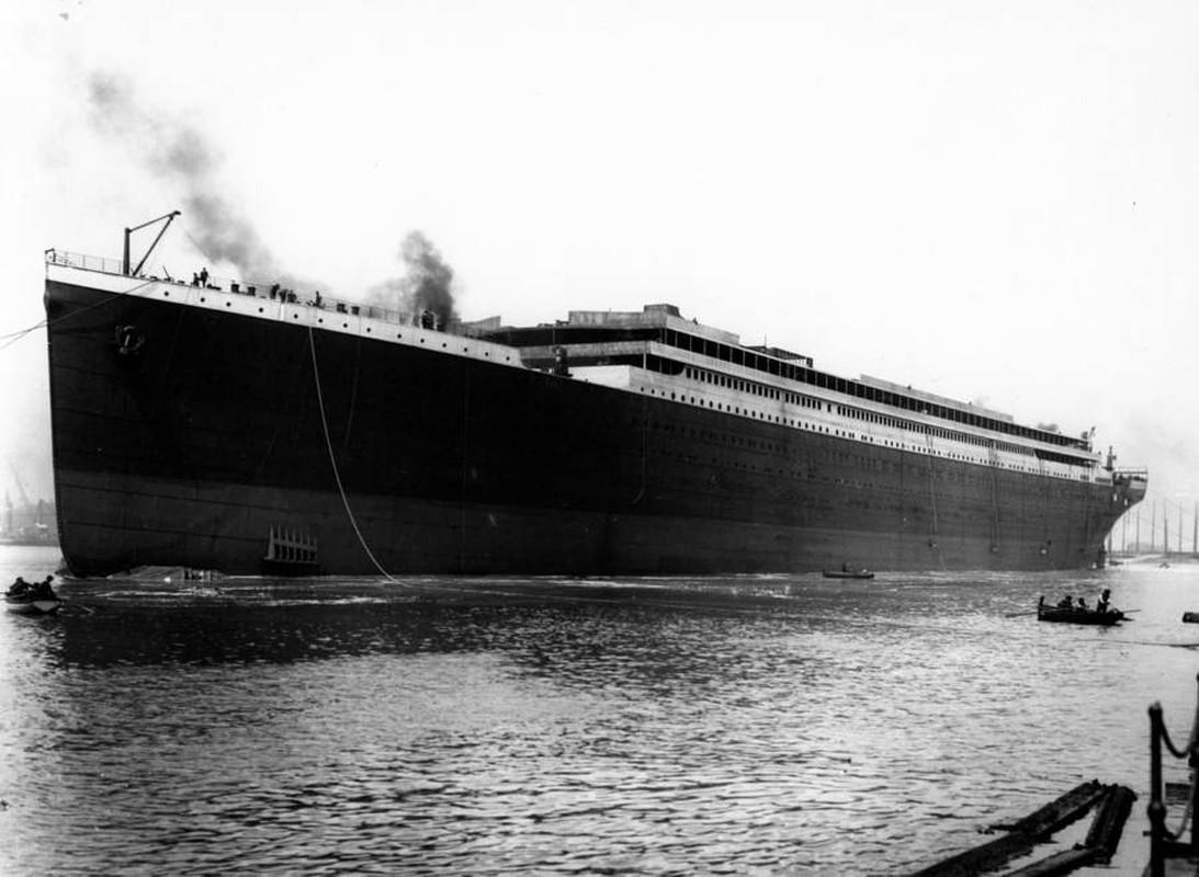 Anh it biet ve tau Titanic huyen thoai truoc khi gap nan