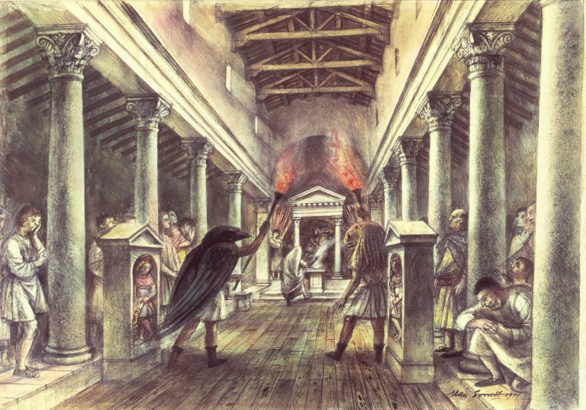 Can canh ngoi den Mithras cua nguoi La Ma giua long London-Hinh-3