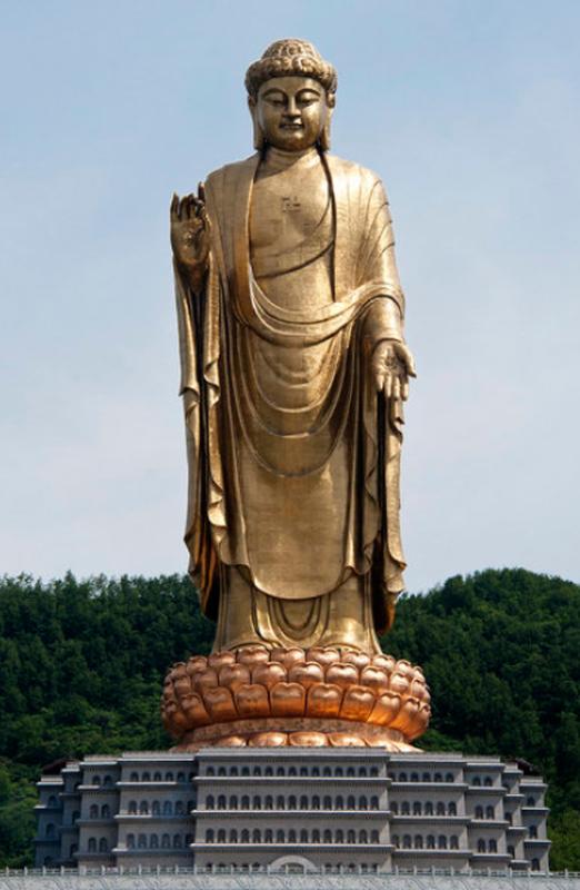 """Chiem nguong nhung tuong Phat """"khung"""" hoanh trang nhat Trung Quoc-Hinh-10"""