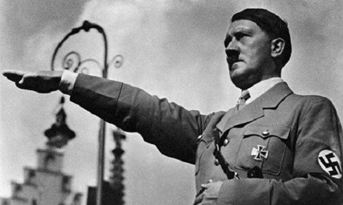 Cuc soc: Trum phat xit Hitler so hai Anh, Phap?
