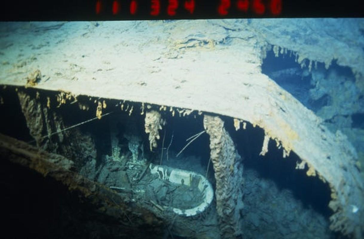Ngam xac tau Titanic huyen thoai truoc khi bien mat hoan toan-Hinh-8