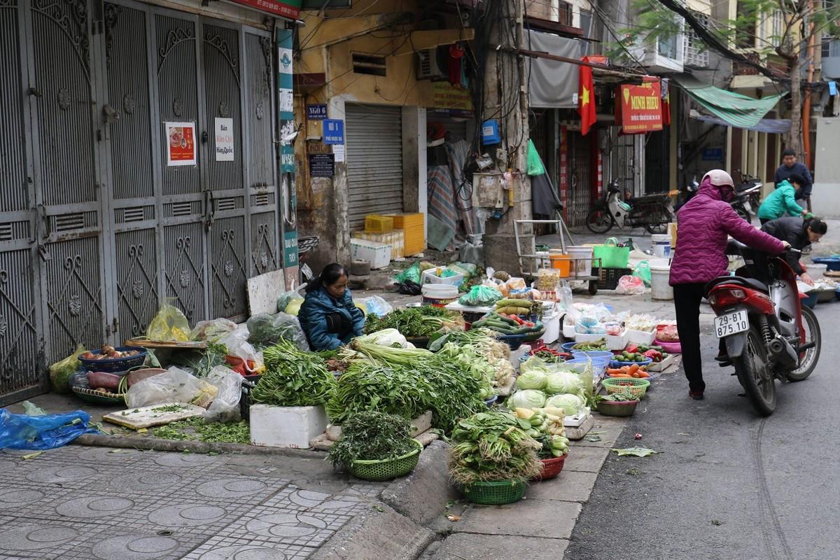 Ha Noi: Tieu thuong mo hang som, cho dau nam du mon ngon, chi... vang khach mua-Hinh-8