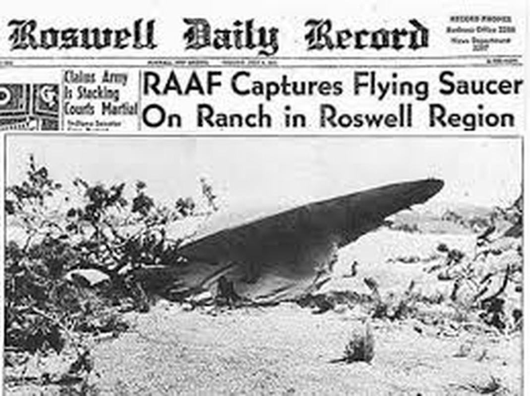 Chan dong: Khong chi 1, co tan 2 UFO roi xuong Roswell nam 1947?-Hinh-4