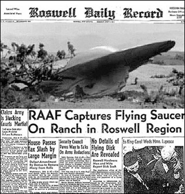 Chan dong: Khong chi 1, co tan 2 UFO roi xuong Roswell nam 1947?-Hinh-8