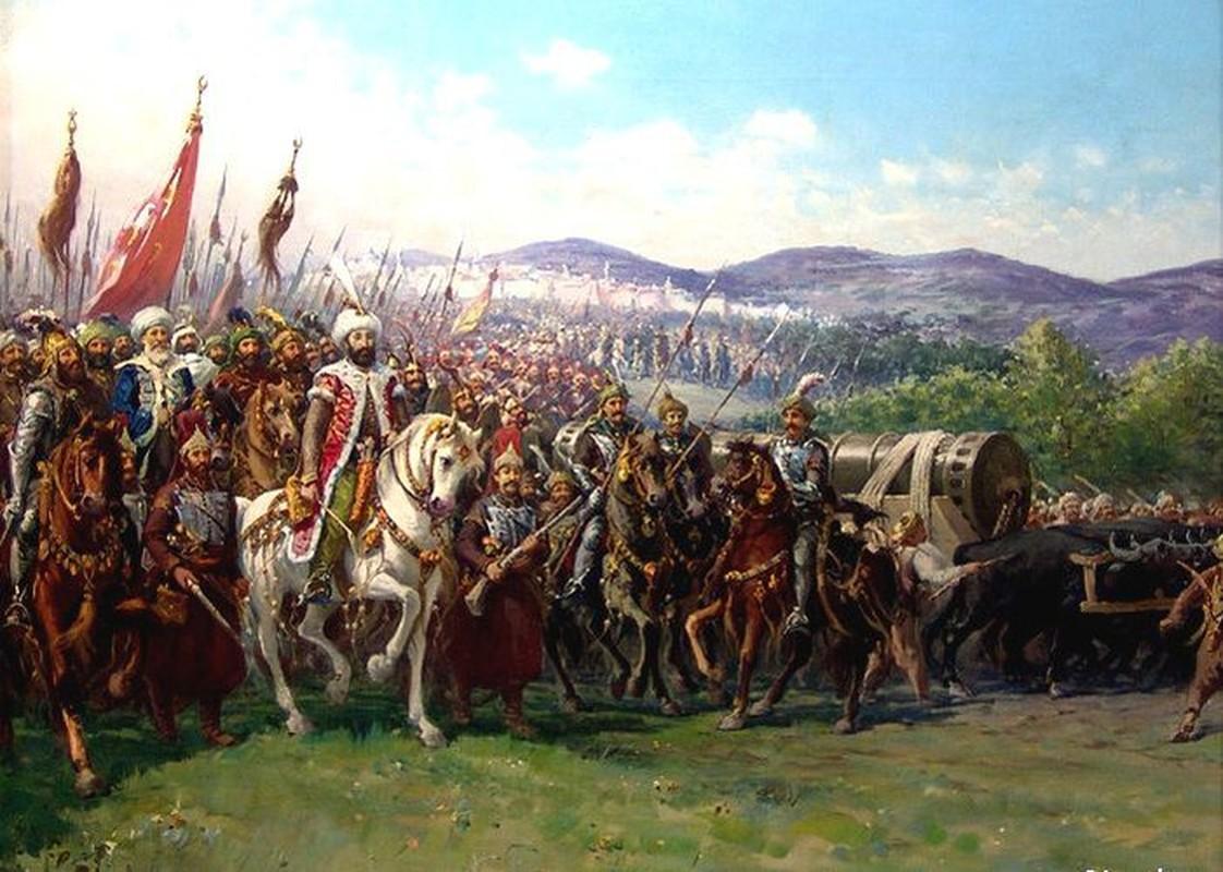 Vi sao de quoc Ottoman sup do sau 6 the ky hung thinh?
