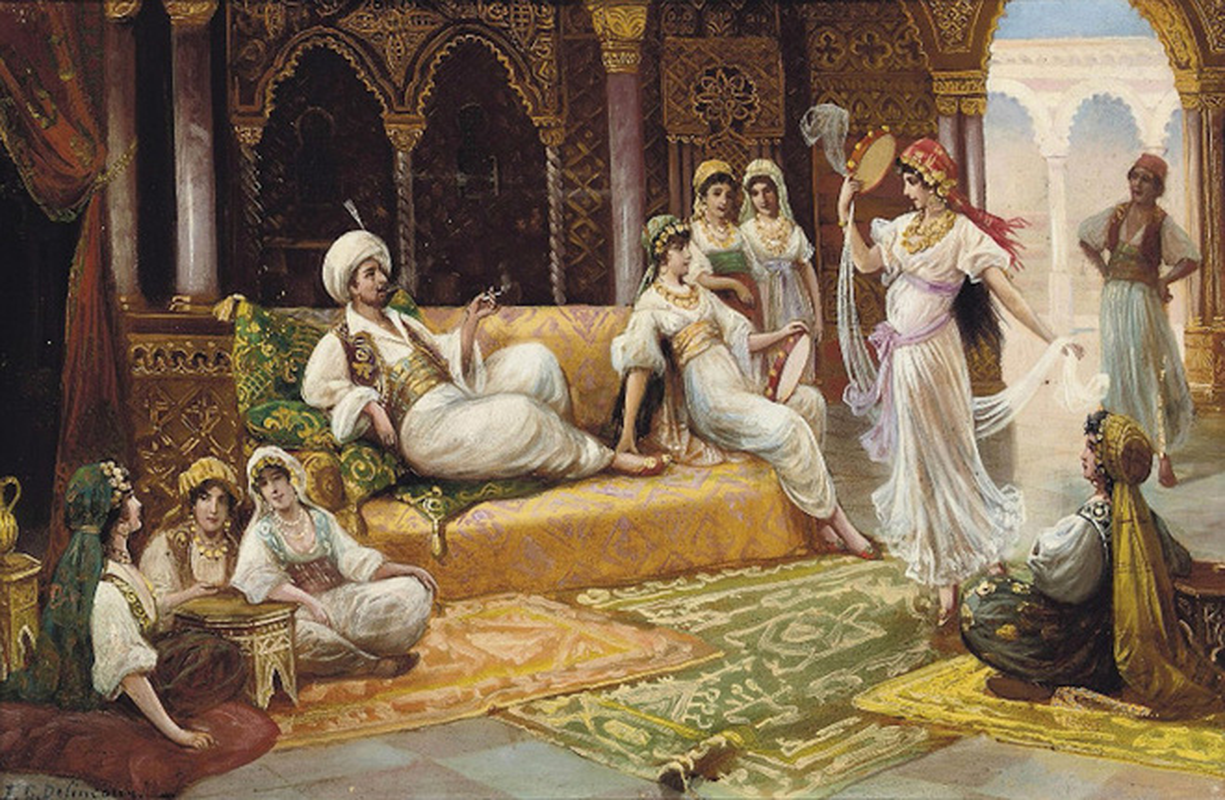Su that nghiet nga cuoc song tham cung cua nha vua de che Ottoman