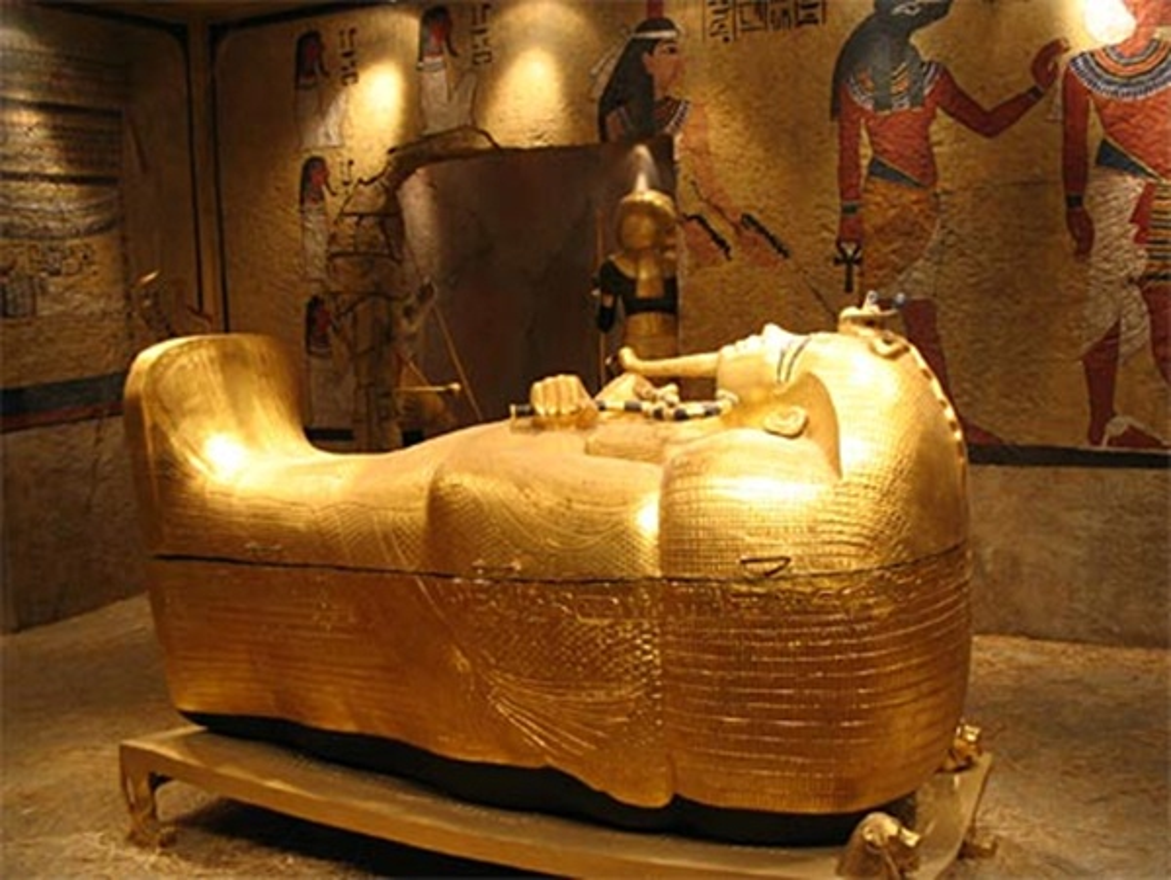 Pharaoh Ai Cap thuong duoc chon bao vat gi trong lang mo?-Hinh-3