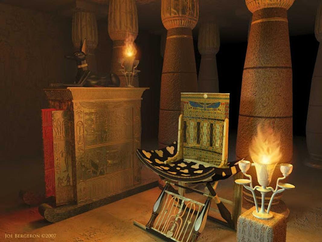 Pharaoh Ai Cap thuong duoc chon bao vat gi trong lang mo?-Hinh-7