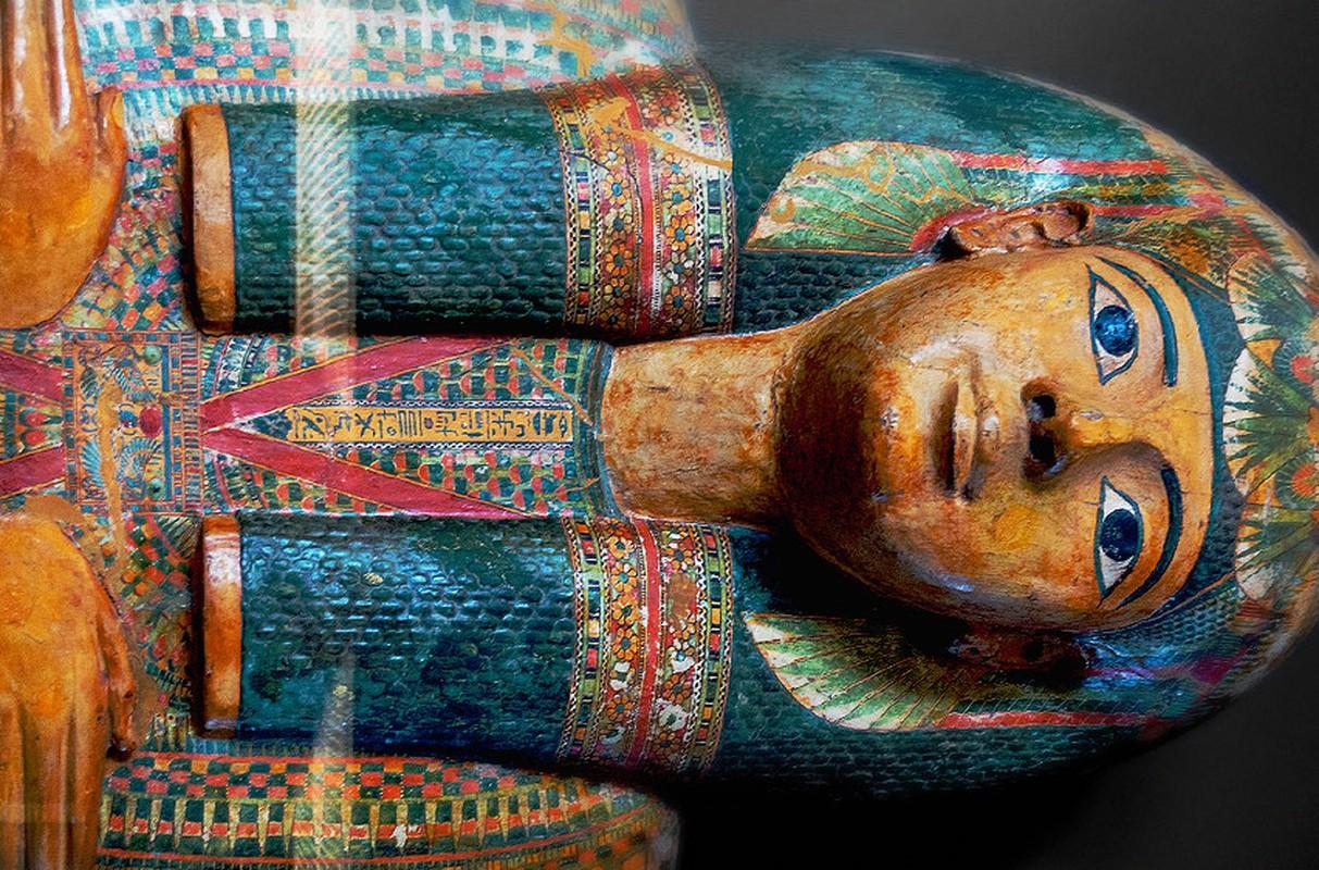 Vi sao xac uop pharaoh Ai Cap duoc dat trong nhieu lop quan tai?