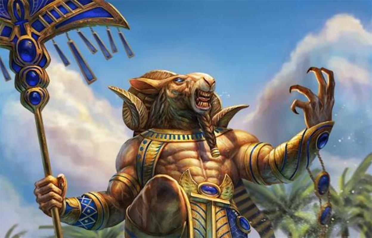Giai mat vi than duoc coi la cha cua cac pharaoh Ai Cap