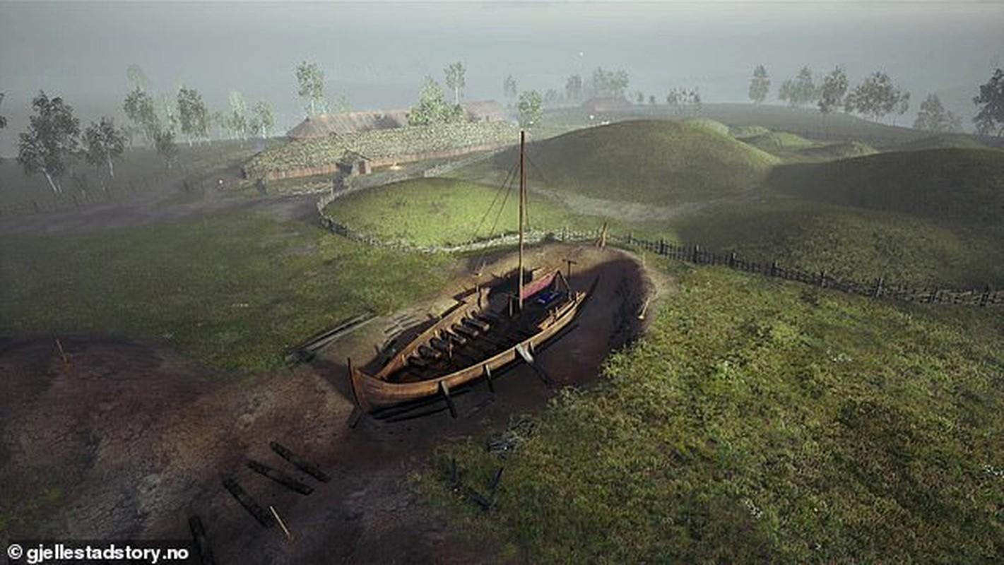 """Bi mat ve """"mo thuyen"""" cua nguoi Viking nghi chon cat nha vua"""