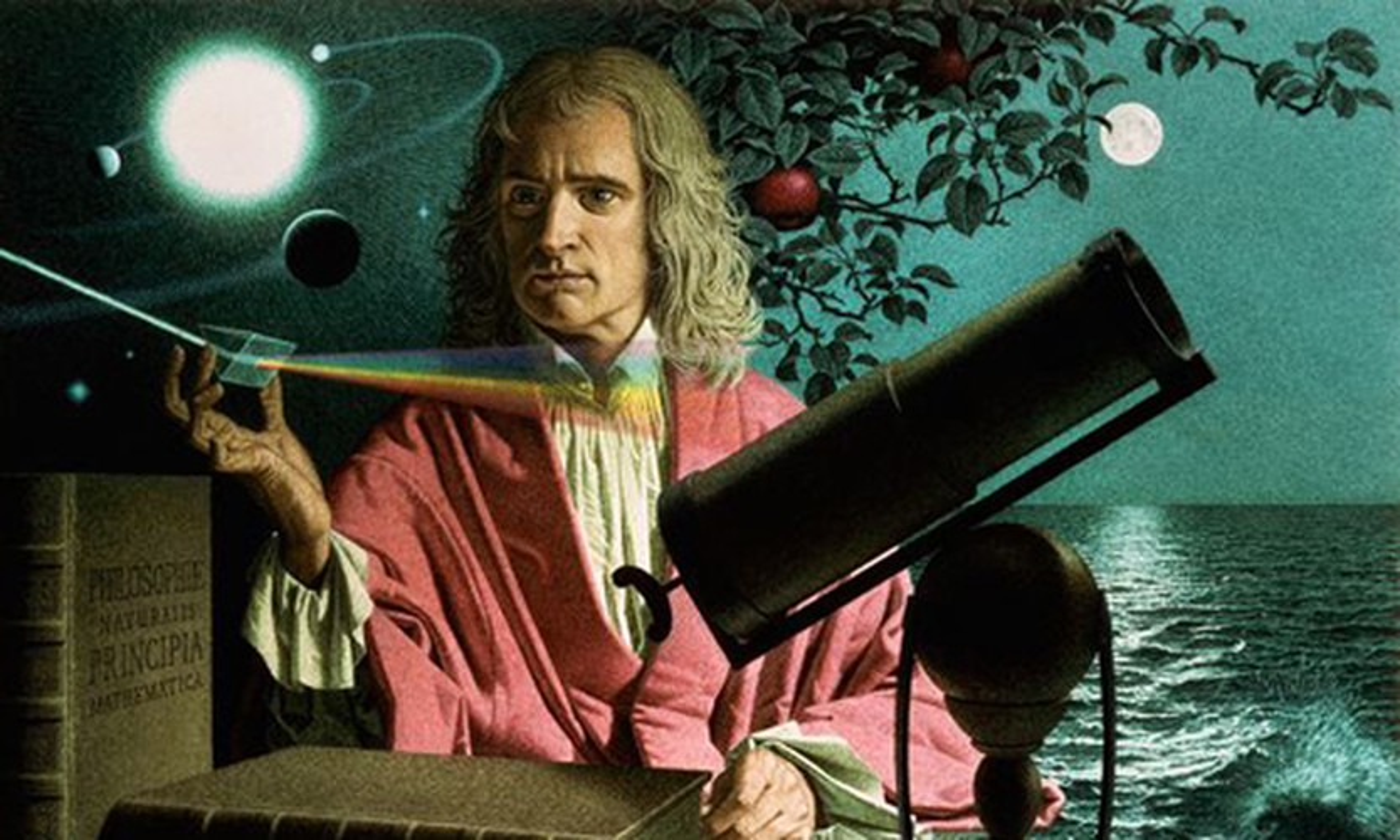 La mot thien tai, Newton van mat dong tien