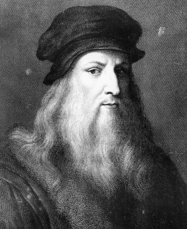 "Leonardo da Vinci co doi mat ""sieu pham"" giup tao nen buc Mona Lisa?"