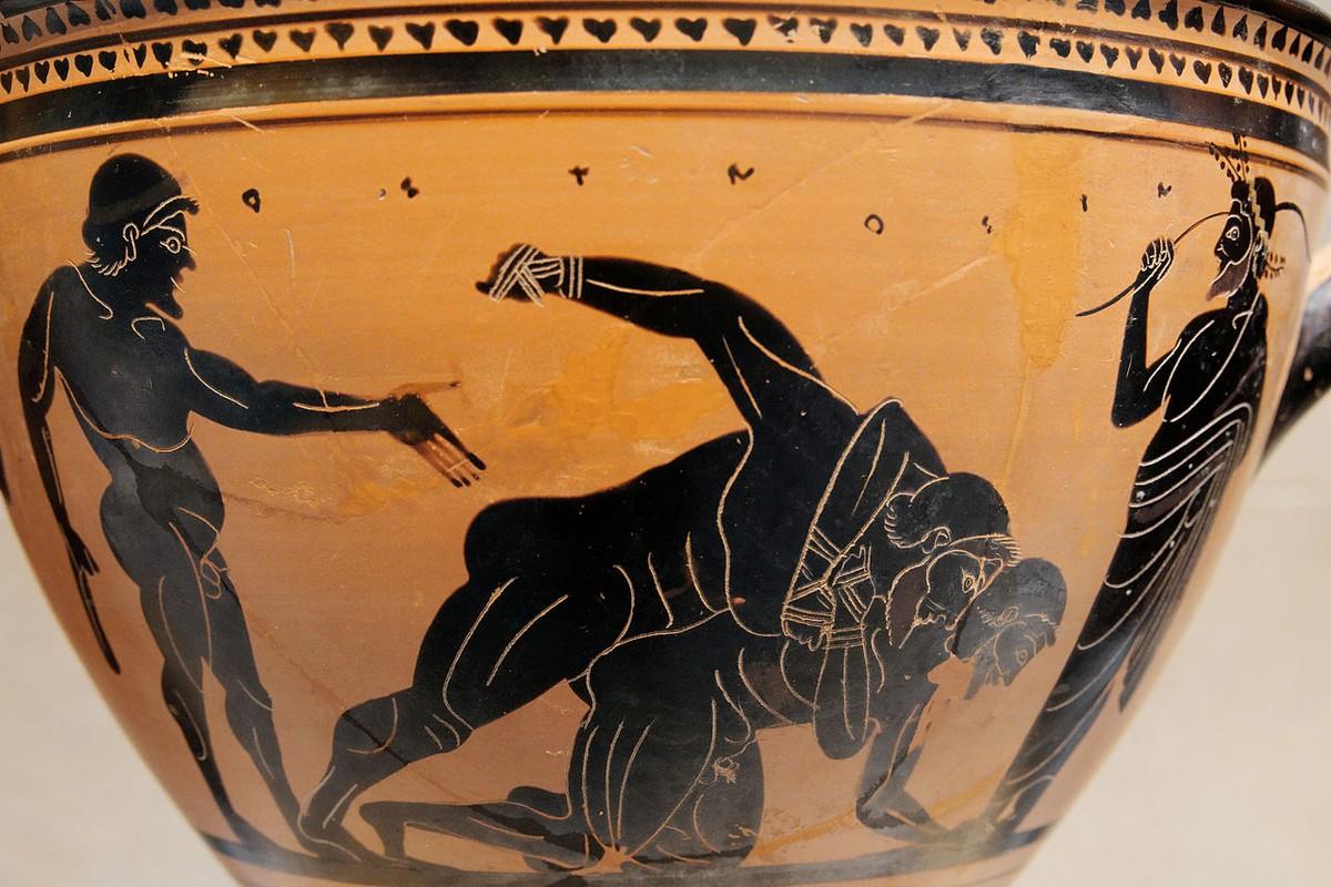 Rung ron nhung cuoc tranh tai chet choc trong Olympic co dai-Hinh-3