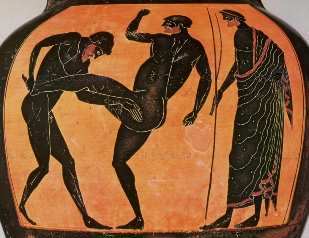 Rung ron nhung cuoc tranh tai chet choc trong Olympic co dai-Hinh-6