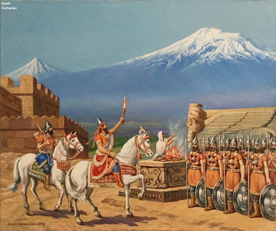 Diem nong Armenia: Bi mat vuong quoc co, chien binh dung manh-Hinh-4