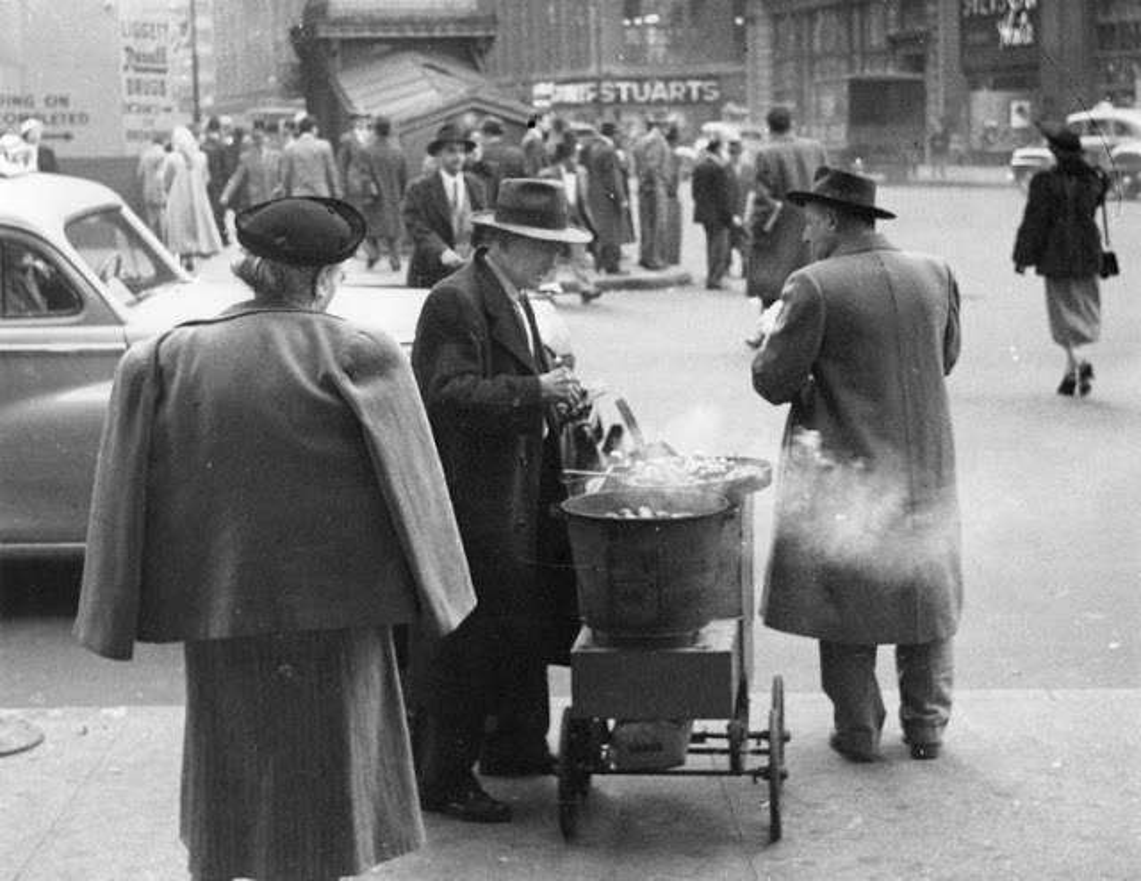 Anh hiem thanh pho New York nhung nam 1950