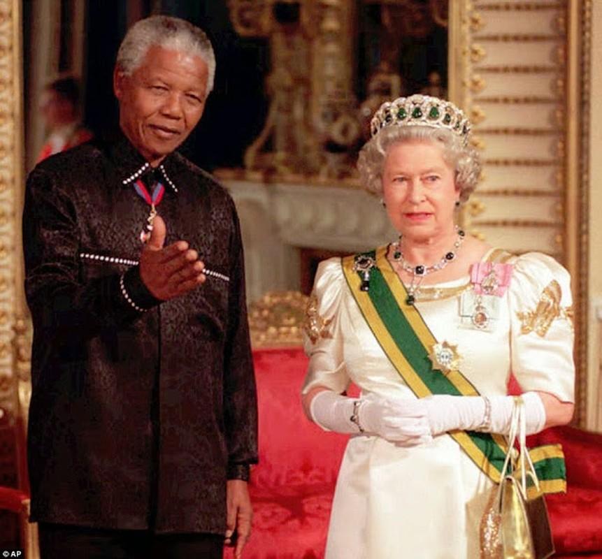 "Anh ""doc hiem"" ong Nelson Mandela ben cac nhan vat noi tieng the gioi-Hinh-5"