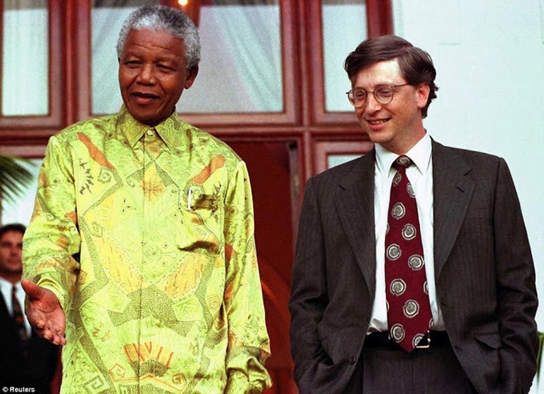 "Anh ""doc hiem"" ong Nelson Mandela ben cac nhan vat noi tieng the gioi-Hinh-6"