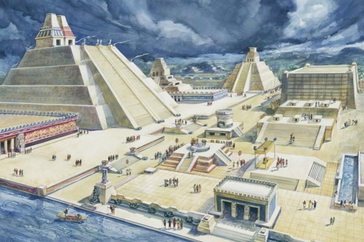 Loi tien tri ly ky ve kinh do cua de che Aztec