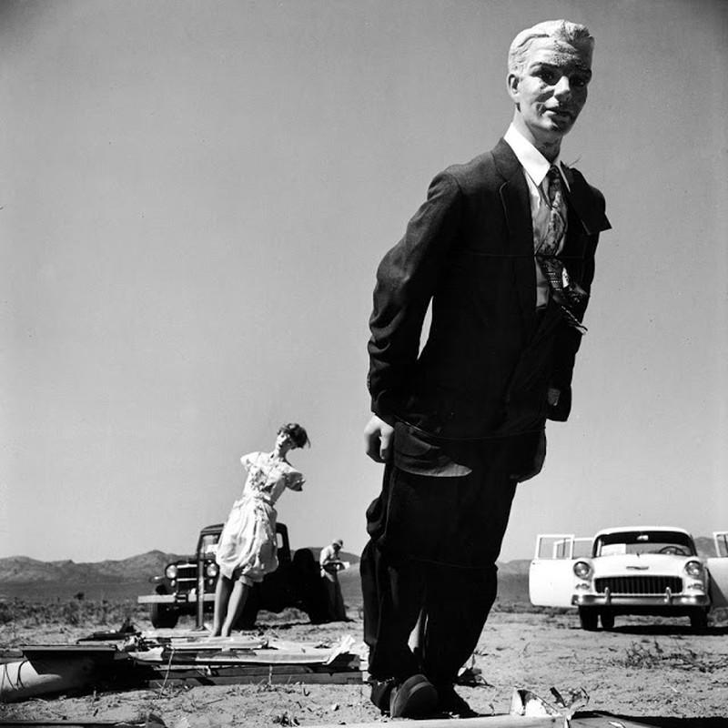 He lo anh vu thu bom hat nhan o sa mac Nevada nam 1955