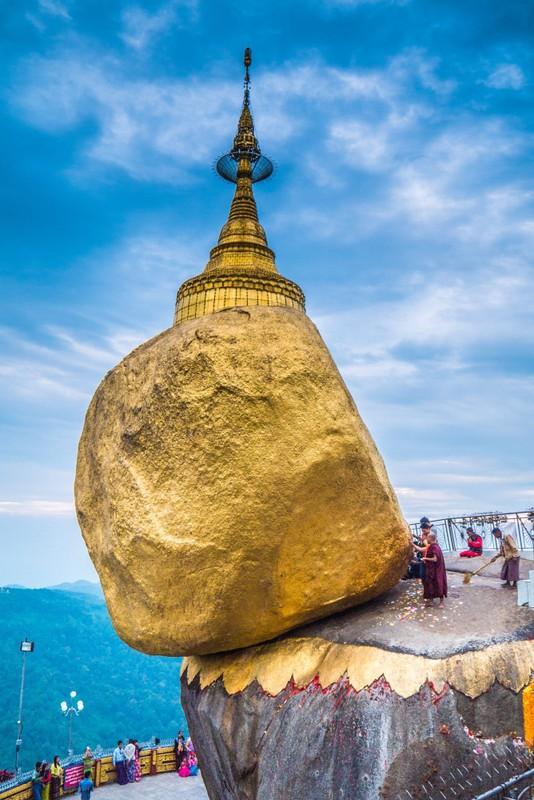Ngoi chua o Myanmar gan lien giai thoai ve toc cua Duc Phat-Hinh-4