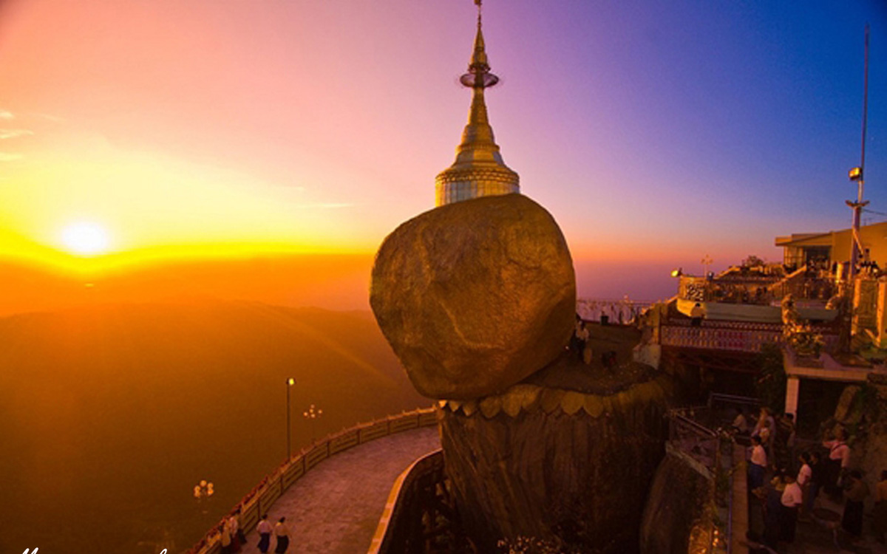 Ngoi chua o Myanmar gan lien giai thoai ve toc cua Duc Phat-Hinh-5