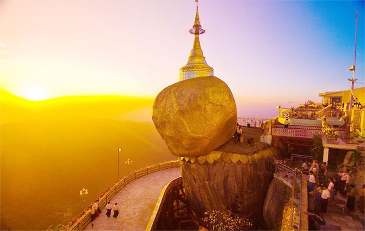 Ngoi chua o Myanmar gan lien giai thoai ve toc cua Duc Phat